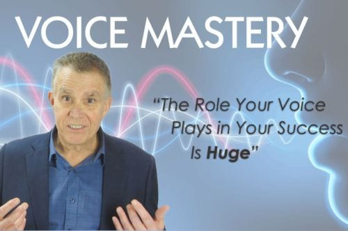 Training to improve your speaking voice